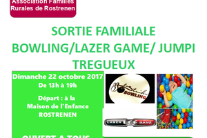 Sortie familiale Bowling / Laser Game / Jumpi